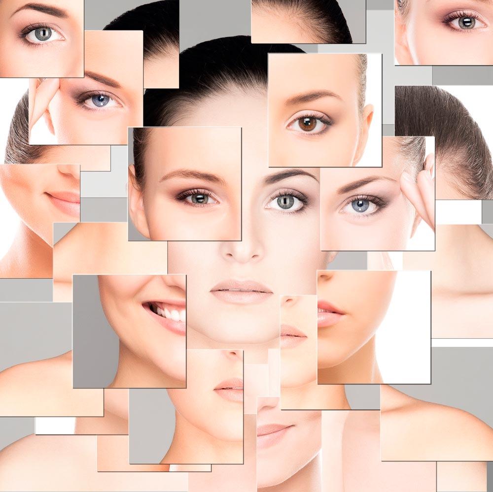 Las máscaras para la persona contra las pecas y las manchas de pigmento