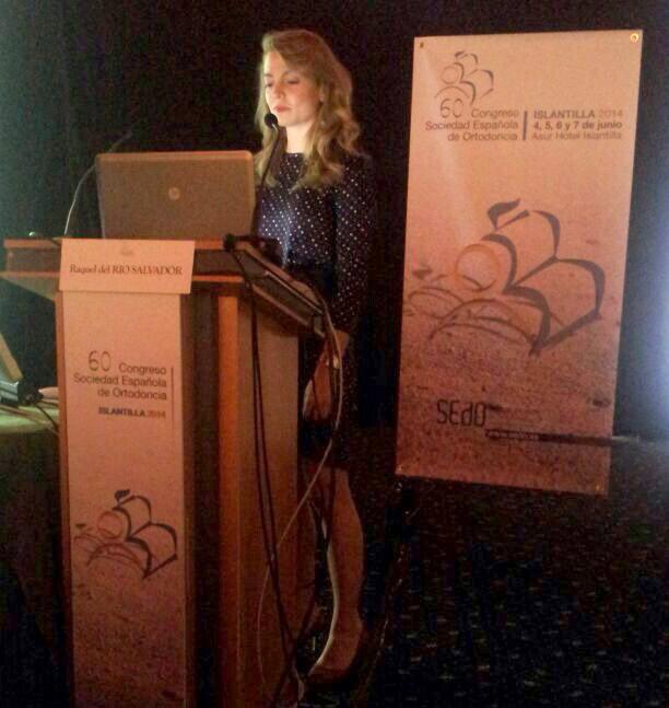 Ponencia de la Dra. del Río Salvador en el congreso nacional de la SEDO