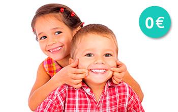 Proyecto gratuito de salud bucodental infantil