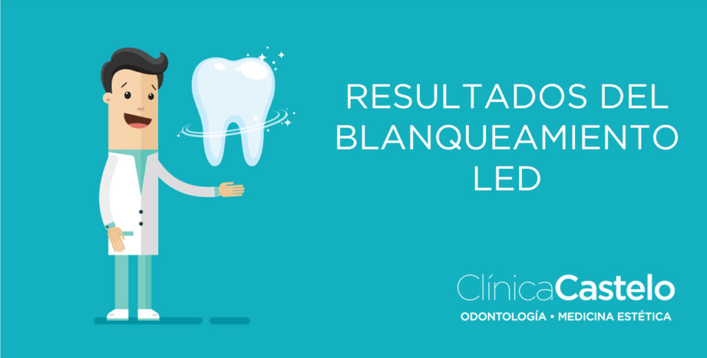 Blanqueamiento led clinica castelo