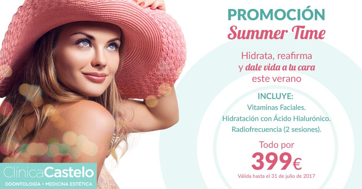 Promoción Summer Time Clínica Castelo