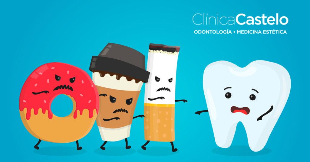 dientes negros-clinica castelo