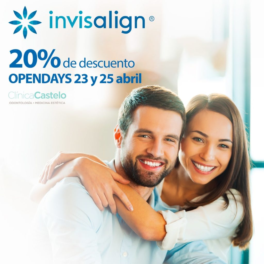 Open Day de Invisalign en madrid con Clínica Castelo ¡Descuento del 20%!